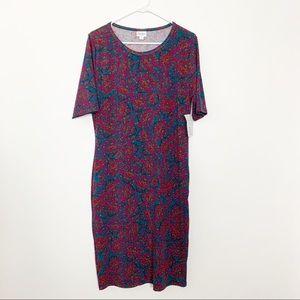 NWT LuLaRoe Julia Dress XL #2202